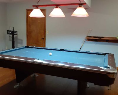 Pool Table and Light