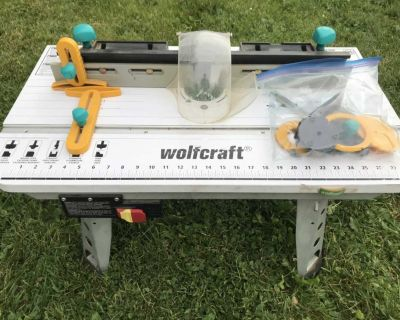 Wolf craft router table