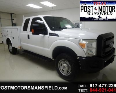 Used 2016 Ford F-250 SD XL SuperCab Long Bed 4WD