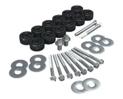 "Teraflex 1.5"" Body Lift Kit 07-13 Jeep Wrangler Jk & Unlimited 4152100"