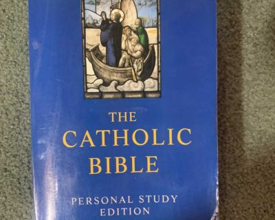 New American bible personal study edition