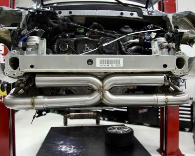 **BBi Autosport Barcode Exhaust 3 inch Porsche 991.2 /911.1 Turbo / Turbo S. 13-19 **