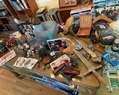 2 Day In-Person Estate Sale - Worldly Goods and Collectibles