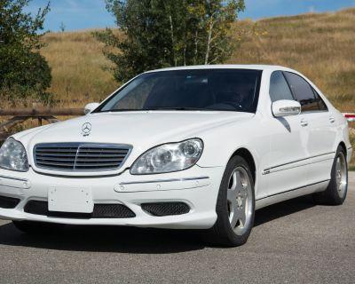 2001 Mercedes S600 part out