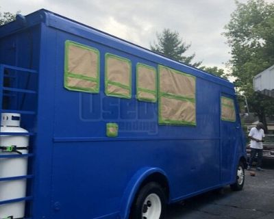 Ford 23' Step Van Kitchen Food Truck with Newly-Built Kitchen
