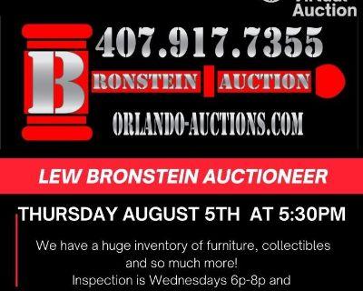 Amazing Virtual Auction Thursday August 5th