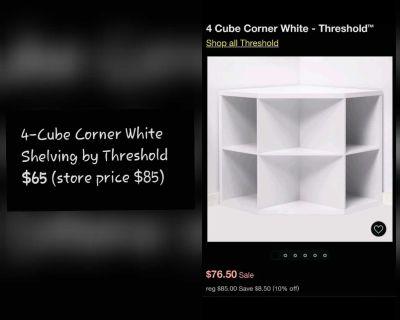 Cube Corner Shelving