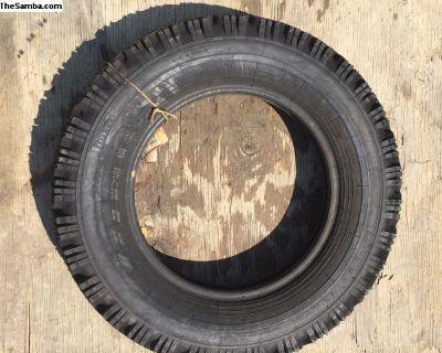 NOS 1 stock tire Pirelli 5.60-15