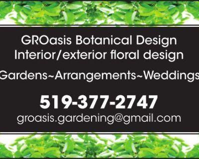 GROasis Botanical Design Inter...