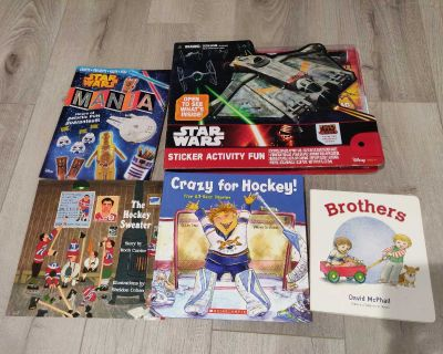 Brand new books and activity book