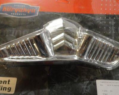 Harley Davidson Sportster 2006-2012 883/1200 Chrome Tappet Block Covers