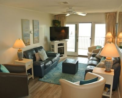 Sails 1/Remodeled Oceanfront 3BR 2bath W/ Incredible Sunrises on Water - North Ocean City