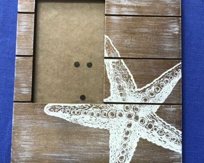 Seashell Wooden Picture Frame