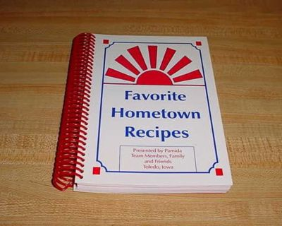 Pamida Team Members Family & Friends Toledo, Iowa Favorite Hometown Recipes. Contents: Appetizers, Snacks, Dips & Beverages , Breads ...