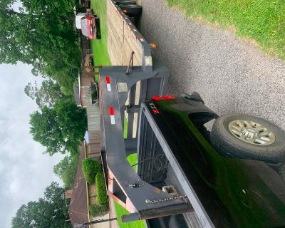 Heavy duty 24' gooseneck trailer