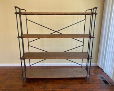 Moving sale - Shelves, Desk - Free
