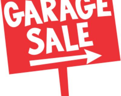 Coach Hill & Patterson Heights Parade of Garage Sales