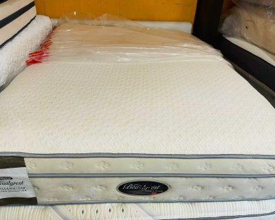 Queen size mattress beautyrest pillowtop
