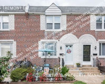3BR/1BA Home in Glenolden, PA Available October Move In-COMING SOON