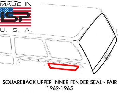 New Upper Inner Fender Seal 1962-1965 Pair