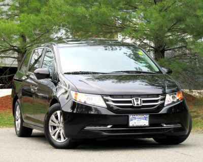 Used 2015 Honda Odyssey 5dr EX-L 8 SEATING LEATHER DVD ENTERTAINMENT
