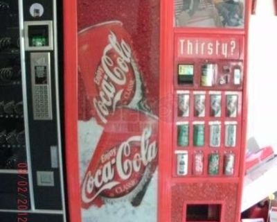 (3) - Electronic Snack / Soda Vending Machines- Dixie Naco, Vendo, Automatic Products!!!