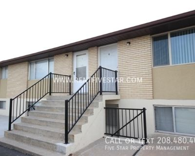 Apartment With Fiber Optic Internet Capability! This 2 Bedroom 1 Bathroom features updated carpet, flooring, light fixtures, and doorknobs with work all completed in July of 2019! LOVE a kitchen with tons of cabinet and counter space, as well as a sleek g