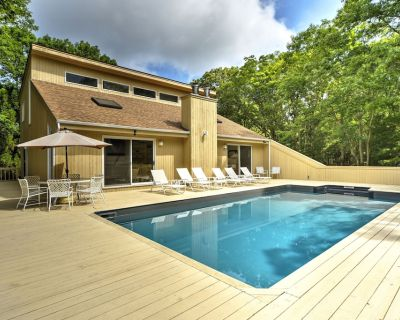 Modern & Spacious, Heated Pool, Gas Grill, Wine Cellar. Bike To Sandy Beaches! - Springs
