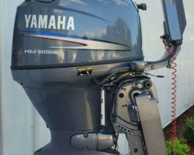 """2004 Yamaha 40 Four Stroke With 15"""" Short Shaft -stored Since New And Never Used"""