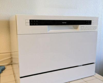 Moving Sale - Countertop Dishwasher, Memory Foam Mattress Topper