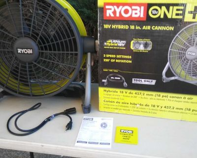 Cannon fan ryobi - Ventilador