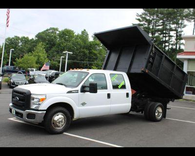 2014 Ford Super Duty F-350 DRW CREW CAB POWERSTROKE DIESEL DUMP TRUCK LOW MILES !