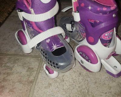 Youth girls rollerskates