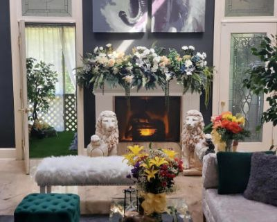 Luxury European-Style Home with Unique Garden Aesthetic, Marietta, GA