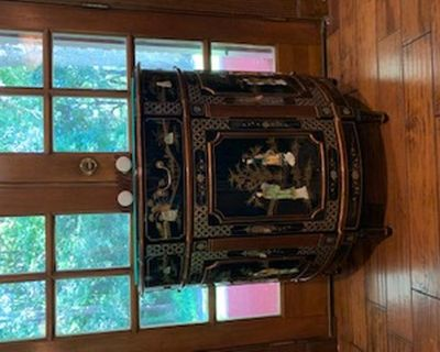 Beautiful Oriental Living room & Dining Suite! 13 pieces & chairs! Rare!