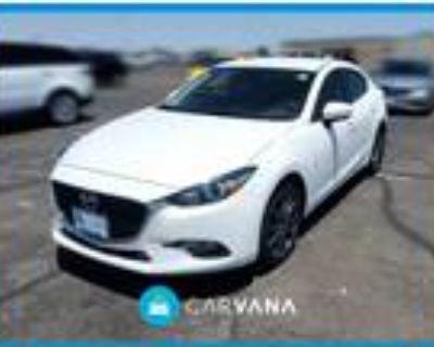2018 Mazda MAZDA 3 White, 19K miles