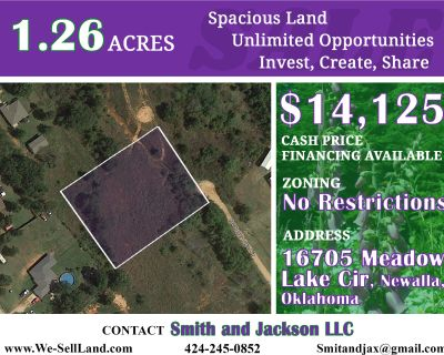 1.26 Acres for Sale in Newalla, OK