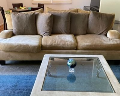 Sofa and love seat!  One or both! - Free
