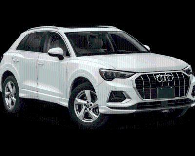 New 2022 Audi Q3 Premium quattro 4D Sport Utility