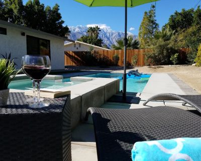 Unforgettable mountain view home, game room, heated pool*/spa, fire pit - Desert Park Estates