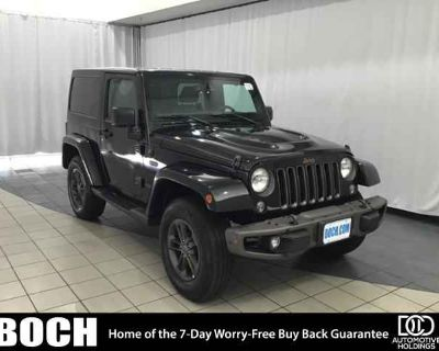 Used 2016 Jeep Wrangler 4WD 2dr