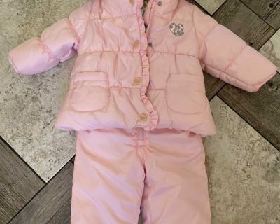 Carter s Pink Winter Jacket and Snow Pants