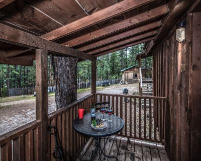 Retreat to your own cozy mountain Hideaway in this adorable, deceptively rusti - Ruidoso