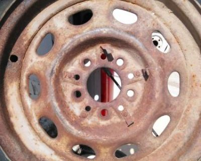 16x4 Artillery Wheel Rally Rat Rod Chrysler Mopar Lincoln Plymouth Dodge 1936 K