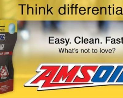 AMSOIL Severe Gear 75W-90 Gear Lube - Easy. Fast. Clean.