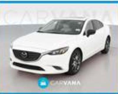 2017 Mazda MAZDA 6 White, 75K miles