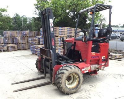 2010 Moffett M55 5500 lb Truck Mounted Forklift