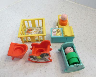 Vintage Fisher Price toys - see photo in comments & please read description
