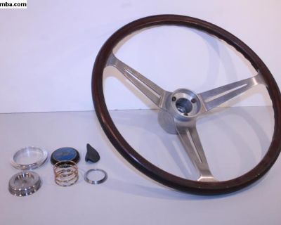 "OG EMPI Wood GT 15"" Steering Wheel"