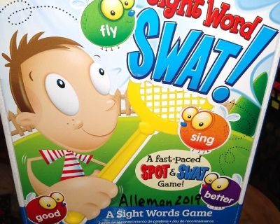 Sight Word SWAT Game (Learning Resources)